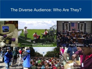 diverse audience science video who are they