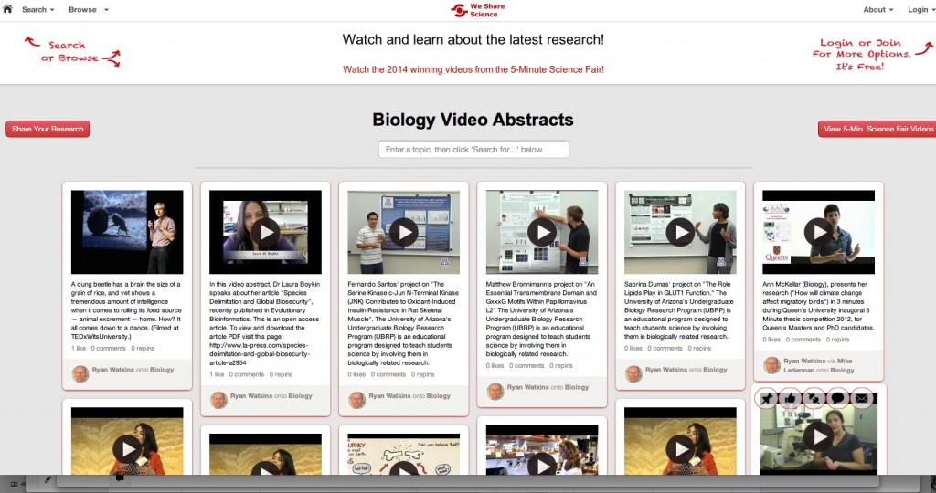 screenshot_wesharescience_videos