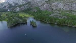 Photo of Norwegian lake. Taken in May 2014.